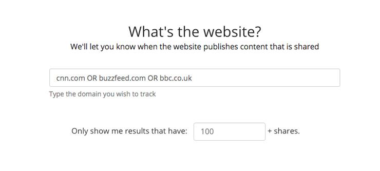 BuzzSumo Content Alerts & Brand Monitoring